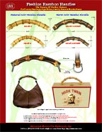 Wholesale Store: Bamboo Handle: Box Purse Bamboo Handles, Bamboo Cigar Box Purse Handles, Bamboo Wood Box Handles
