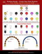Bead Shops Catalogue: Wholesale Gold Beads, Silver Beads, Water Melon Beads and Engraved Plastic Beads