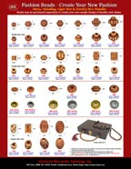 Beading Supplies Catalogue: Bone Beads For Beaded Jewelry Necklace and Bead Craft Making