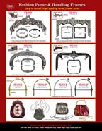 Catalogues - Stylish Fashion Purse and Handbag Frame - Antique Frames