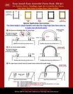 How To Make A Purse Instructions - Straps, Handles and Hooks.