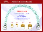 HH-P4xx-30n Purse Handle & Handbag Handle Hardware Accessories with Hooks